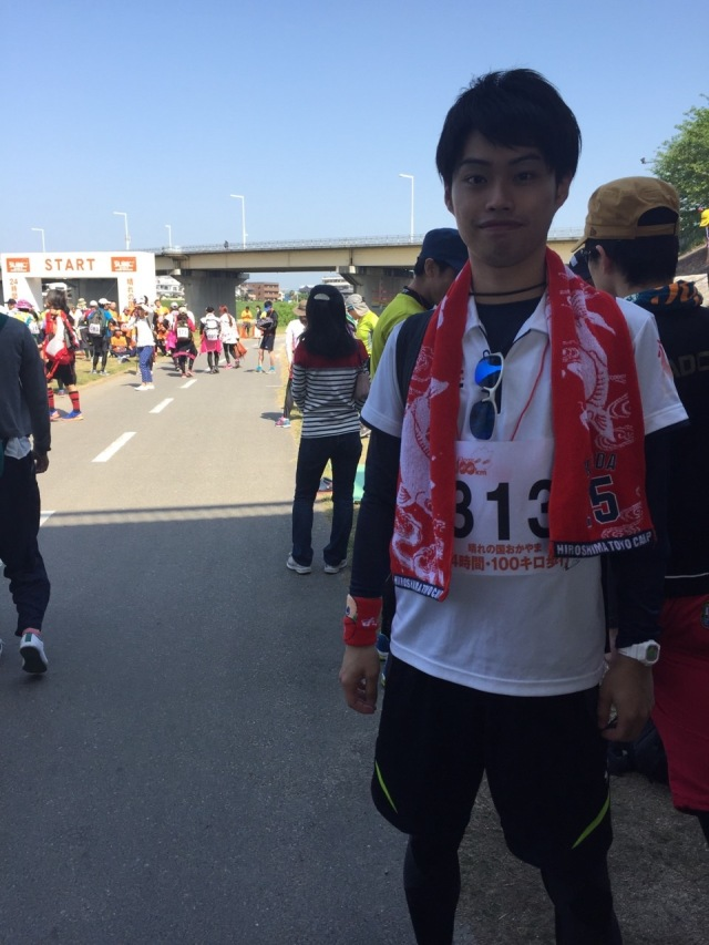 小川先生100キロ